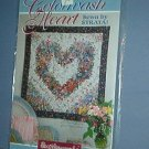 Sewing Pattern Colorwash Heart by Strata 48.5 X 51.5""