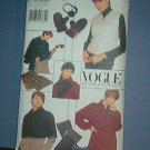 Sewing Pattern Vogue Accessories, Mittens, ear muffs, hat, wraps, vest., One Size