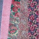 Sewing Fabric - Quilting Pieces  - 7 each - small prints