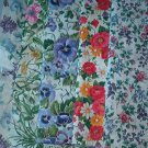 Sewing Fabric - Quilting Pieces  - 5 each - smal and medium flowers