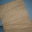 Sewing Fabric Cotton No. 270 Beige with roses, small print sweet