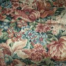 Sewing Fabric No. 280 Big flower print for drapery or upholstery