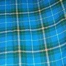 Sewing Fabric No. 281 Wool Blue and Green Plaid Pendelton