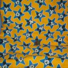 "Sewing Fabric Cotton No 310 Mickey head in a star ( 2"")"