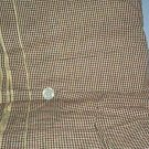 """Sewing Fabric Cotton No 348 brown and black check 1/8"""""""