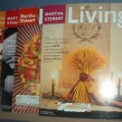 Magazine - Martha Stewart Living - Thanksgiving - Nos 44, 54, 64 and 96 - 1996,97,98 & 2001