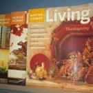 Magazine - Martha Stewart Living - Thanksgiving -  84, 96, 108 November 2000, 01 & 02