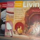 Magazine - Martha Stewart Living - Thanksgiving - Nos 108, 120, 64, 44 November 1996.98.2002,03