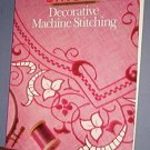 Magazine - Singer Sewing Reference Library  - Decorative Machine Stitching -