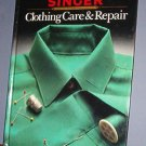 Magazine - Singer Sewing Reference Library  - Clothing Care & Repair