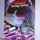 Magazine - Singer Sewing Reference Library  - Sewing Update 1988