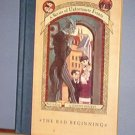 Books - A Series of Unfortunate Events, The Bad Beginning, Book the First, HB