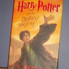 Books - Harry Potter and the Deathly Hallows, by J. K. Rowling. First Edition, First Printing