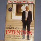 Books - The Power of Intention, Dr. Wayne W. Dyer - HC/dj, 259 pages like new