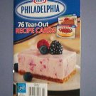 Magazines - Kraft Philadelphia 76 tear out recipe cards - desserts, plus
