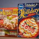 Magazines - Pillsbury elebrate Holidays Parites and asy Mexican Meals.  Small books of recipes