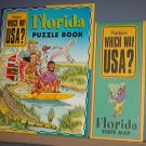 Highlights - which Way USA? - Florida Puzzle Book and Map - Excellent