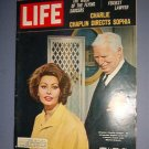 Magazine - Life - Charlie Chaplin directs Sophia Loren - April 1, 1966 - Excellent