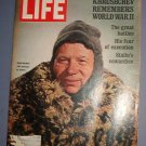 Magazine - Life - Khrushchev Remebers WWII  - December 4, 1970 Excellent Shape