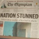 Newspaper - Olympian Special Issue Nation Stunned - September 11 - Excellent Shape