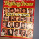 Magazine - The Rolling Stone  #454 The Day the World Rocked