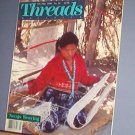 Magazine - THREADS - Feb/Mar 1988 Navajo Weaving