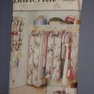 Sewing Pattern 6869 Butterick Closet Accessories, storage bags, shoe bags, umbrella holder, etc