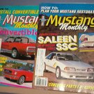 Magazine - Monthly Mustang - May and March 1989