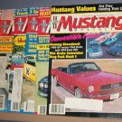 Magazine -Mustang Monthly  - April, July, September - December 1985