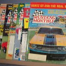 Magazine -Mustang Monthly  - March, June, August, September -December 1984