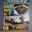 Magazine - Mustang - Hot Rod Magazine - Summer 1984