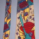 "Neck Tie - Necktie - The Beatles Instant Karma 2/6/70 - Like New 4"" across"