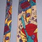 "Neck Tie - Necktie - The Beatles Instant Karma 2/6/70 - Like New 4"" across"