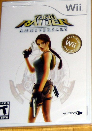 Lara Croft Tomb Raider Annuversary for Nintendo Wii NEW