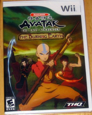 Avatar. The Last Airbender. for Nintendo Wii. Brand New