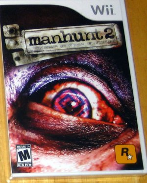 Manhunt 2 for Nintendo Wii, Brand New, Sealed.