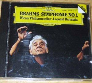 @@ DG 410081 BERNSTEIN BRAHMS Symphony #1 W. Germany @@