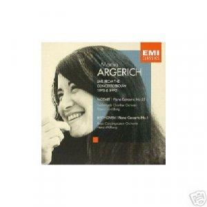 MARTHA ARGERICH live MOZART PC 25, BEETHOVEN PC 1