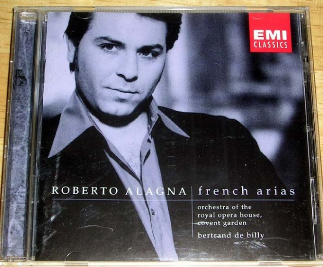 @@ EMI, ROBERTO ALAGNA, French Arias, mint @@