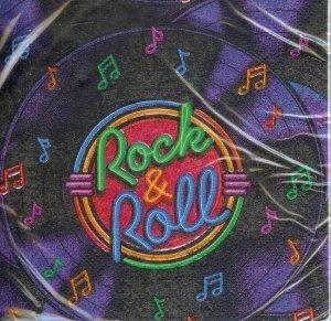 Rock & Roll Beverage Napkins