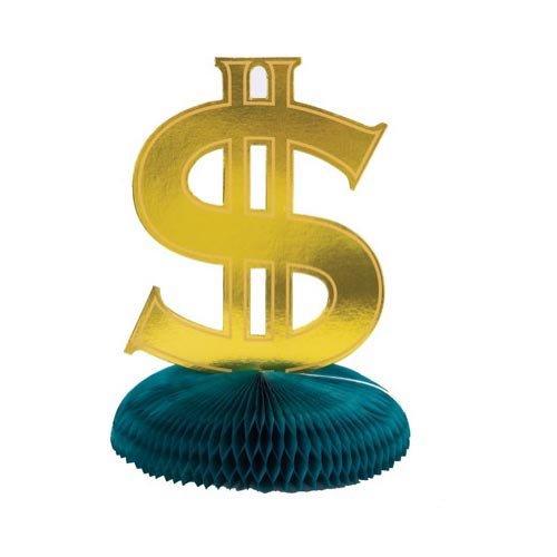 Dollar Sign Centerpiece
