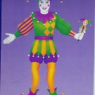 Mardi Gras Jointed Jester Cutout