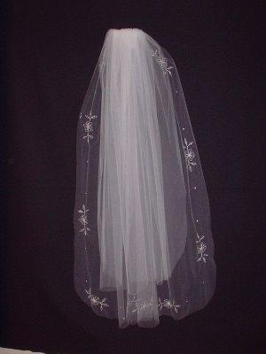 Bridal Veil 186  White