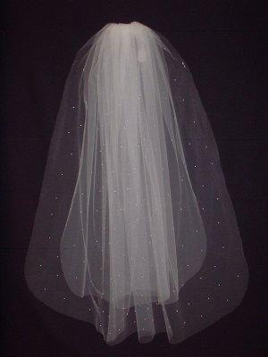 Bridal Veil 197  Ivory