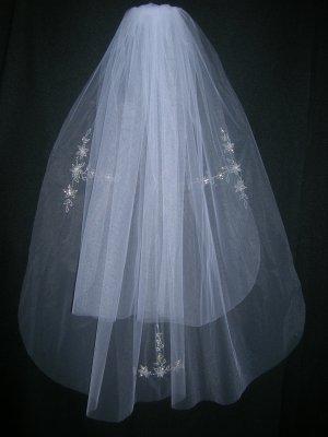 Bridal Veil 190  White