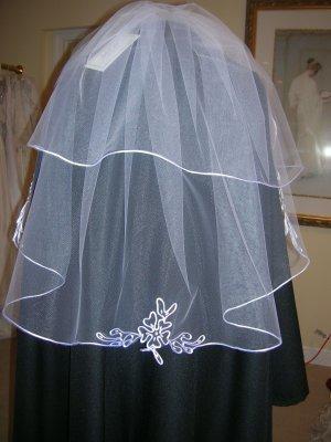 Bridal veil 204 White