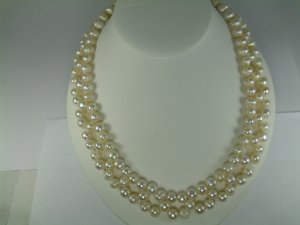 Fresh Water Pearl Necklace  Set RB786