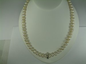Fresh Water Pearl Necklace Set  RB792