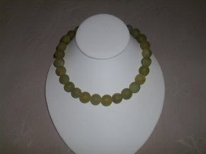 Natural  green Jade Necklace RB307