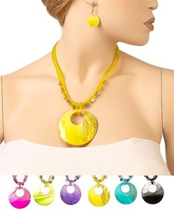 RB010  SHELL NECKLACE SET